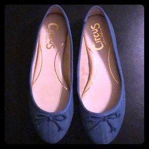 Sam Edelman Denim Flat Shoes 🥿